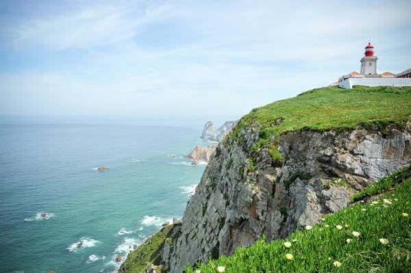 Roca Wall Art - Photograph - Lighthouse Of Cabo Da Roca, Portugal by Brytta