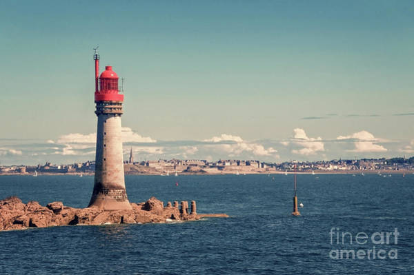 Wall Art - Photograph - Lighthouse Of Saint Malo by Delphimages Photo Creations