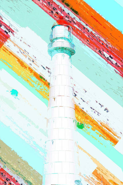 Digital Art - Lighthouse by Payet Emmanuel
