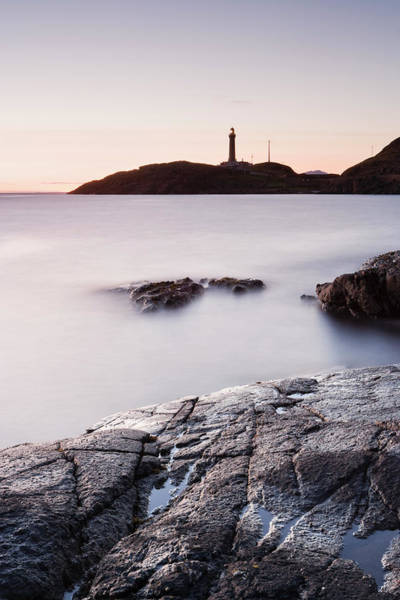 Waters Edge Photograph - Lighthouse, Point Of Ardnamurchan by Derek Croucher