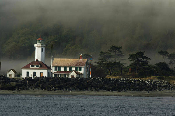 Port Townsend Photograph - Lighthouse - Port Wilson by Jeff Burgess