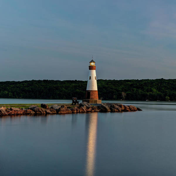 Photograph - Lighthouse Reflection by Rod Best