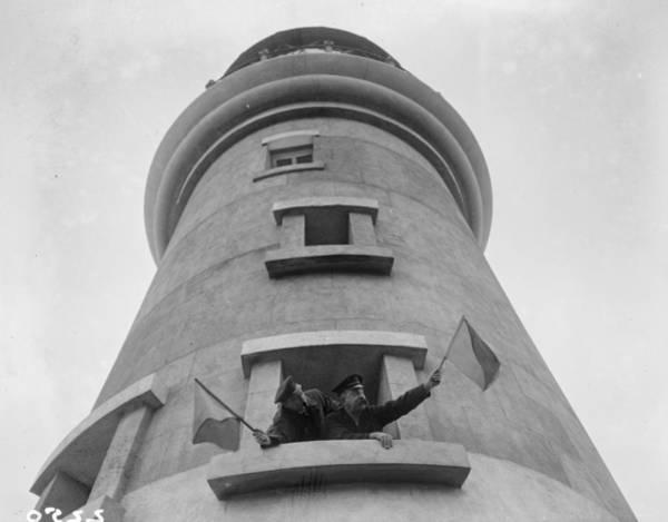 Caucasian Photograph - Lighthouse Relief by Fox Photos