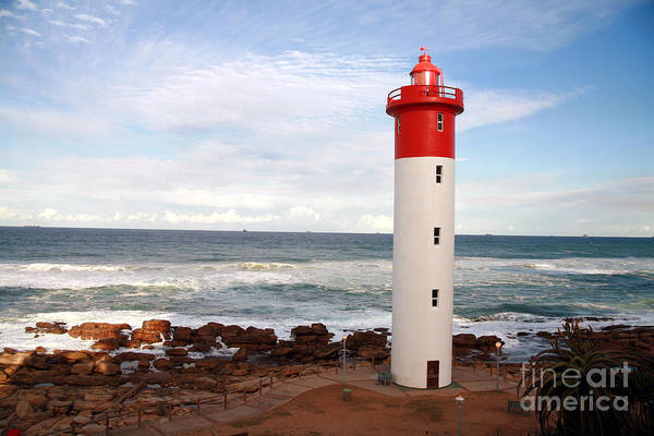 Wall Art - Photograph - Lighthouse Umhlanga South Africa by Paul Banton