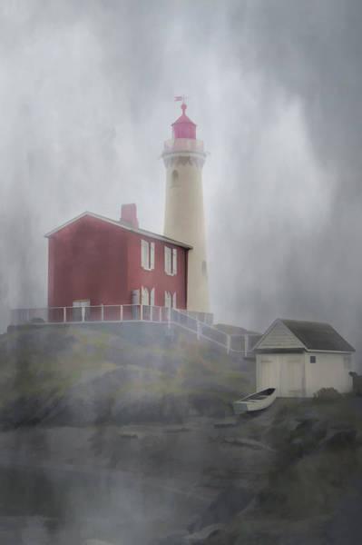 Photograph - Beacon In The Fog by Marilyn Wilson