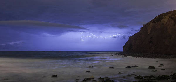 Photograph - Lighting Over The Headlands by Cliff Wassmann