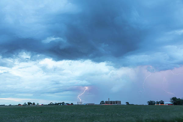 Photograph - Lightning And Gas Fracking by James BO Insogna