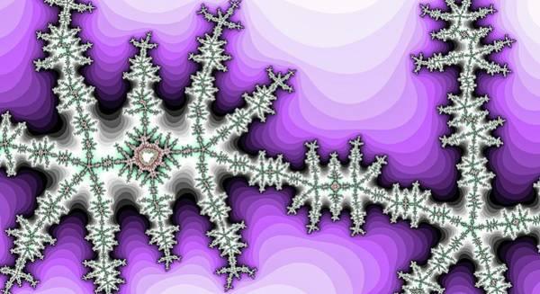 Digital Art - Lightning Creature Walks Purple by Don Northup