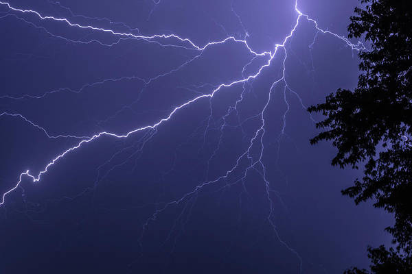 Photograph - Lightning by Jason Fink