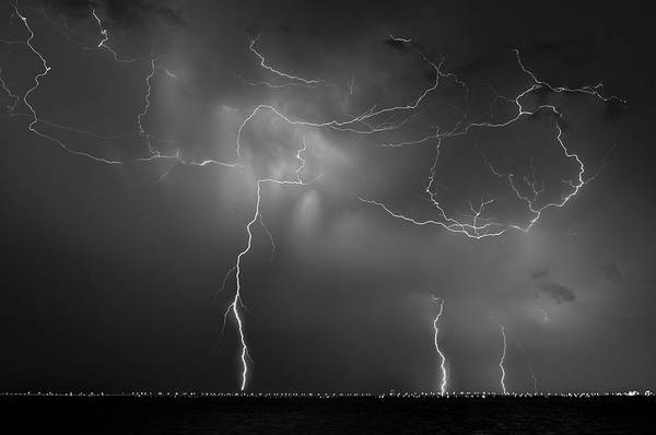 Photograph - Lightning Strikes by Joe Leone