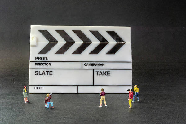 Photograph - Lights Camera Action by Steve Purnell