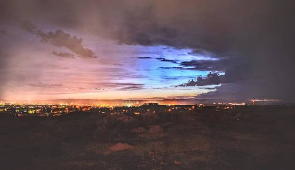 Photograph - Lights Of Laramie by Chance Kafka