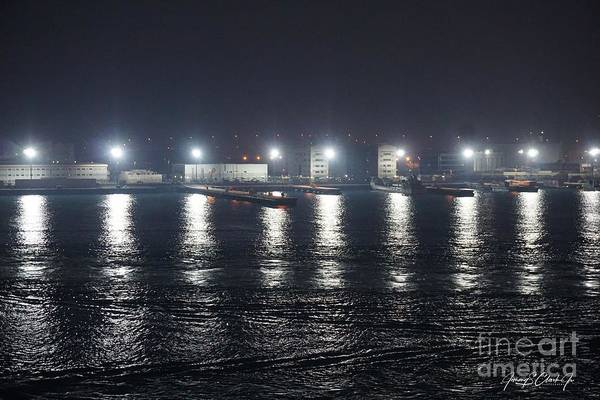 Photograph - Lights Over Water by Jimmy Clark