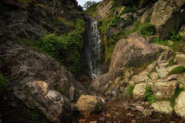 Church Stretton Photograph - Lightspout Waterfall by Simon Hark