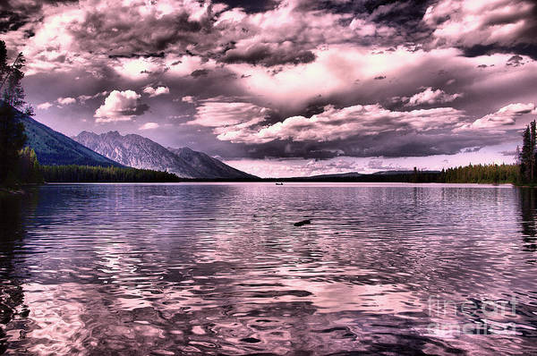 Montain Photograph - Like When Heaven Opens Up by Jeff Swan