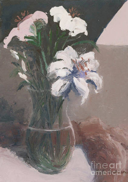 Painting - Lilies No. 1 by Linda Anderson