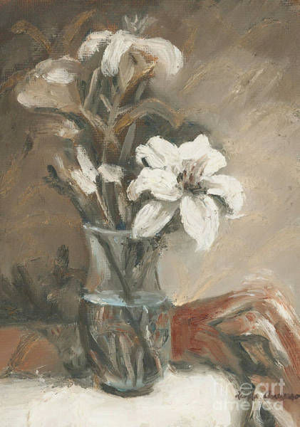 Painting - Lilies No. 2 by Linda Anderson