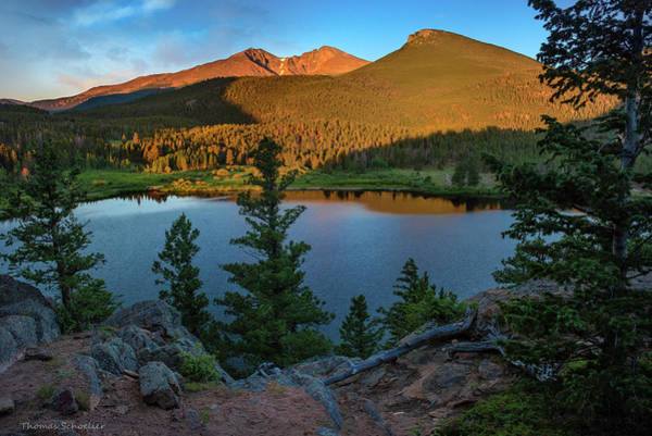 Wall Art - Photograph - Lily Lake Overlook by T-S Fine Art Landscape Photography