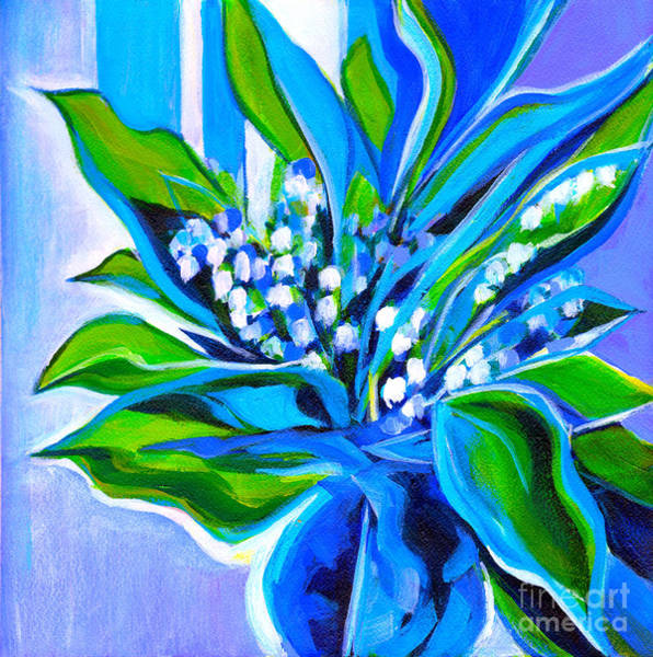 Painting - Lily Of The Valley by Tanya Filichkin