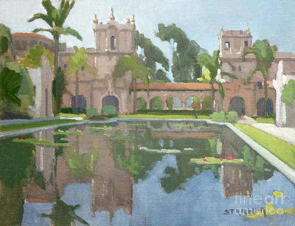 Prado Wall Art - Painting - Morning Reflections by Paul Strahm