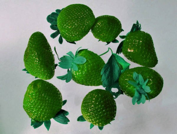 Photograph - Lime Strawberries by Tom Kelly