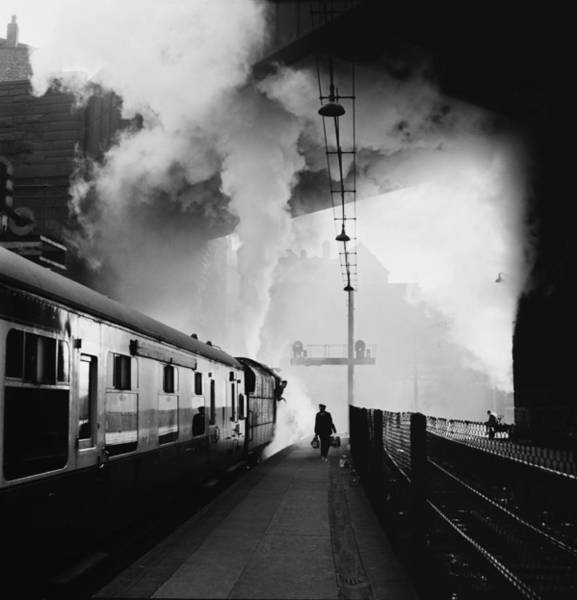 Photograph - Lime Street Station by Bert Hardy
