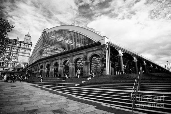 Wall Art - Photograph - Lime Street Station Liverpool Merseyside England Uk by Joe Fox