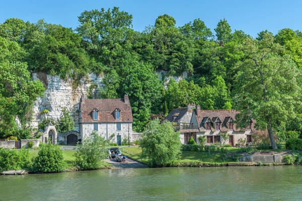 Wall Art - Photograph - Limestone Buildings, Along Seine River by Lisa S. Engelbrecht