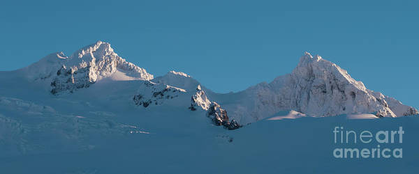 Wall Art - Photograph - Lincoln And Colefax Peaks Mount Baker Aerial by Mike Reid