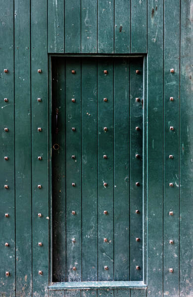 Photograph - Lincoln Castle Door by Scott Lyons
