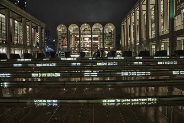 Lincoln Center For The Performing Arts Art Print