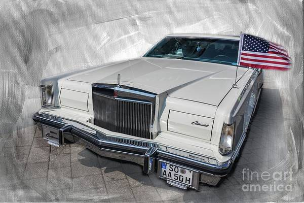 Photograph - Lincoln Continental 1975-1979 by Eva Lechner