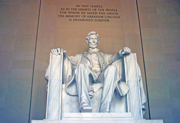 Photograph - Lincoln Memorial by Anthony Jones