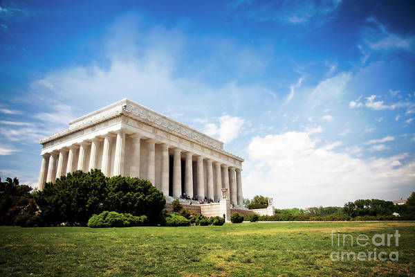 Photograph - Lincoln Memorial by Scott Kemper