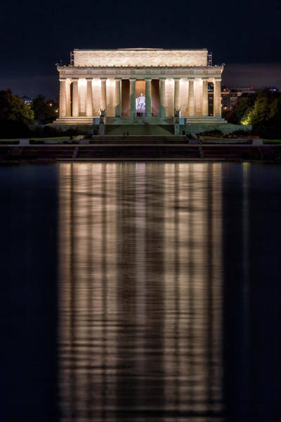 Photograph - Lincoln Memorial by Travis Rogers