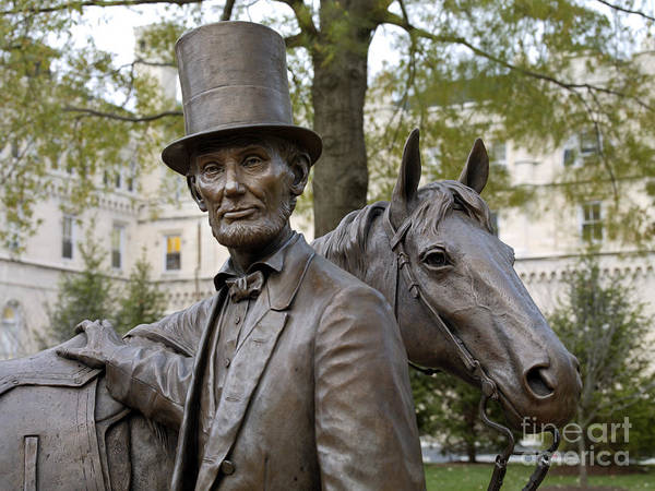 Photograph - Lincoln Statue, 2008 by Carol Highsmith