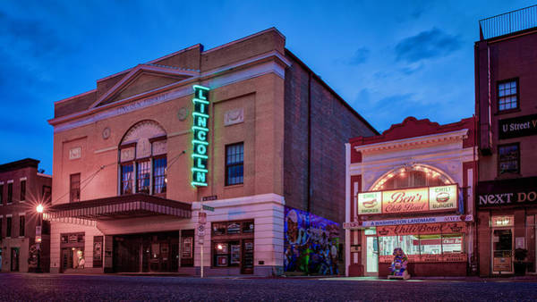Wall Art - Photograph - Lincoln Theater In Washington Dc by Nandor Nagy