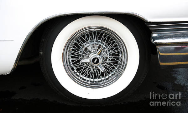 Photograph - Lincoln Wire Wheel by Dale Powell