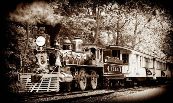 Wall Art - Photograph - Lincoln's Funeral Train - 3337-c by Paul W Faust - Impressions of Light