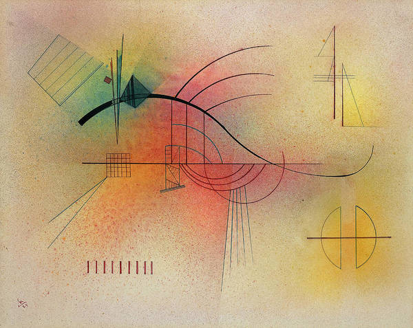 Improvisations Wall Art - Painting - Line, 1929 by Wassily Kandinsky