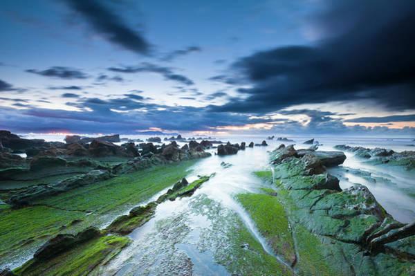 Bilbao Photograph - Line Of Sea by Guillermo Casas Baruque