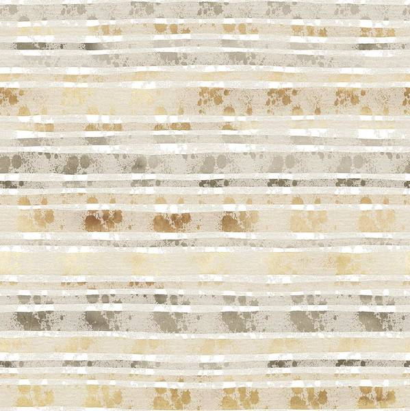 Wall Art - Mixed Media - Linear Lines Sandy Pattern by Amanda Lakey