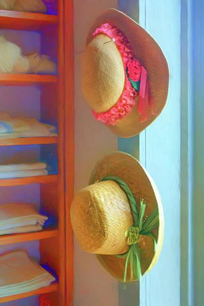 Wall Art - Photograph - Linens And Hats by Nikolyn McDonald