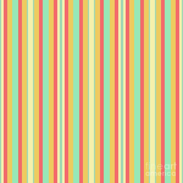 Lines Or Stripes Vintage Or Retro Color Background - Dde589 Art Print