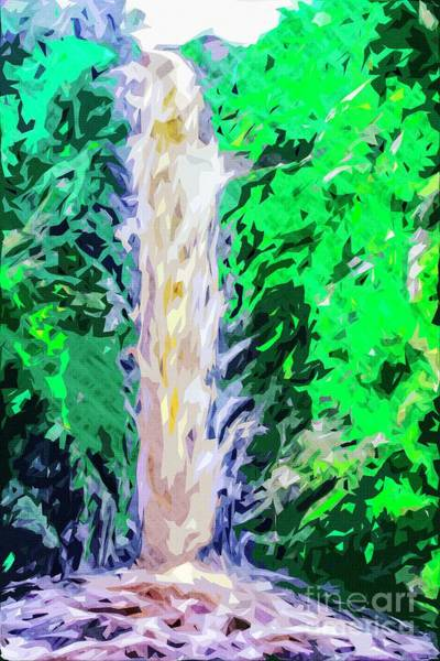 Photograph - Linhope Waterfall by Nigel Dudson