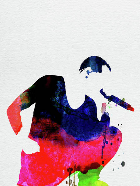 Rap Mixed Media - Linkin Park Watercolor by Naxart Studio