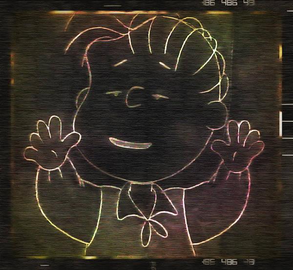 Digital Art - Linus Says Hello by Mario Carini