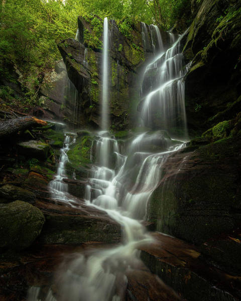 Photograph - Linville Gorge - Waterfall by Mike Koenig