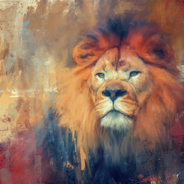 Painting - Lion Energy by Jai Johnson