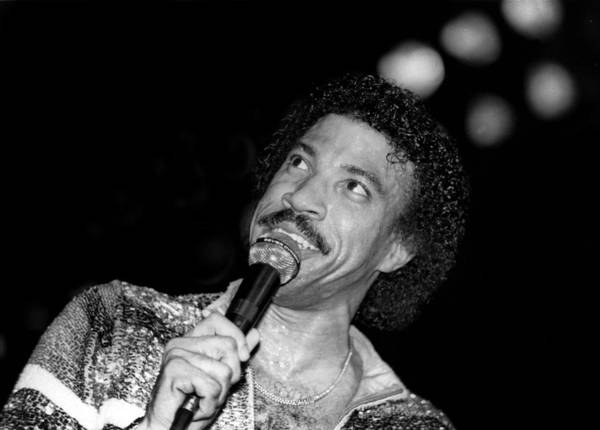 Soul Music Photograph - Lionel Richie Live In Concert by Raymond Boyd
